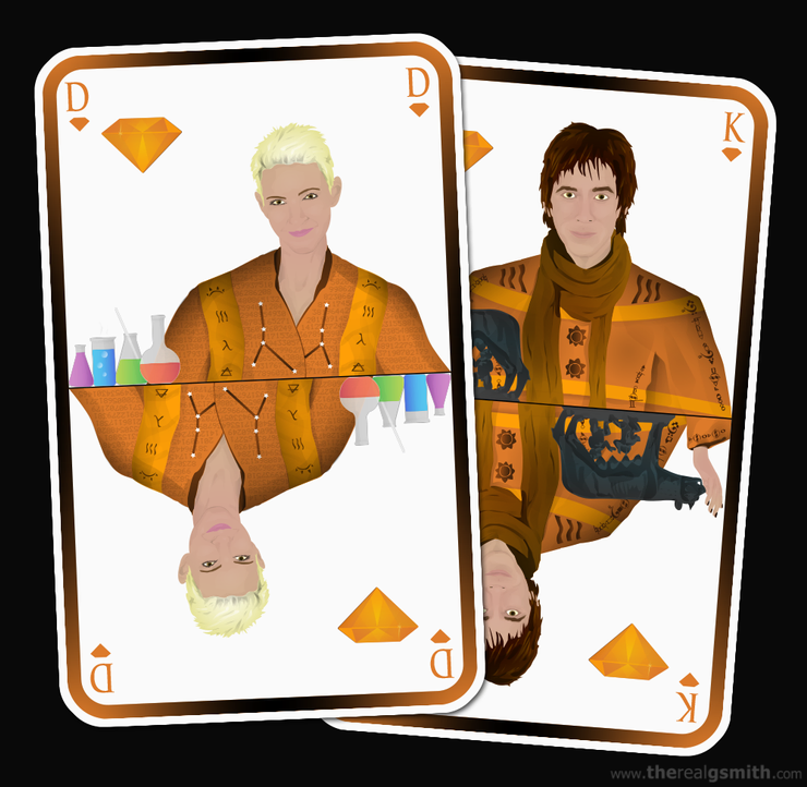 Roxette playing cards